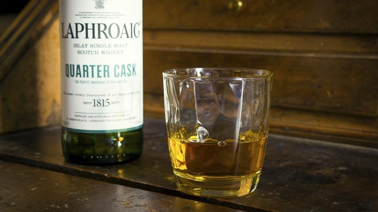 Laphroaig Quarter Cask single malt Scotch whisky review, tasting notes and price