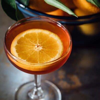 Il nuovo aperitivo del sabato sera: cocktail Khajuraho con tequila e amaro Averna