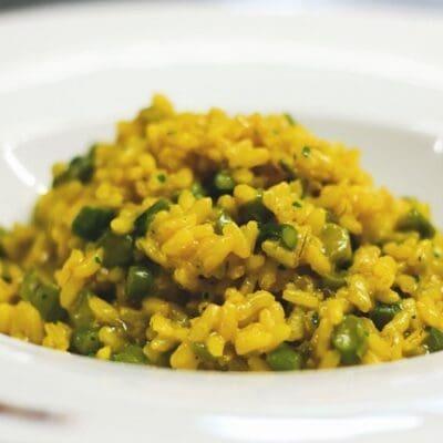 Risotto asparagi e zafferano ricetta perfetta