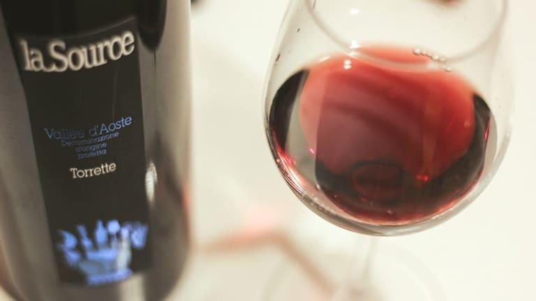 Torrette Petit Rouge 2014 La Source degustazioni vini Valle d'Aosta