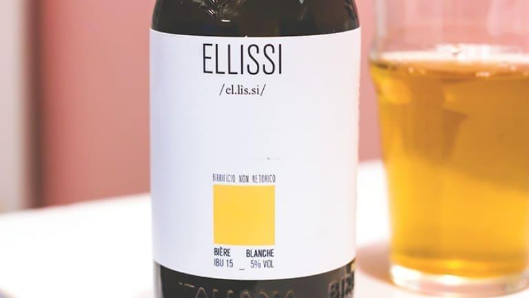 Ellissi birra Blanche Birrificio non Retorico Imola, recensione, commento prezzo