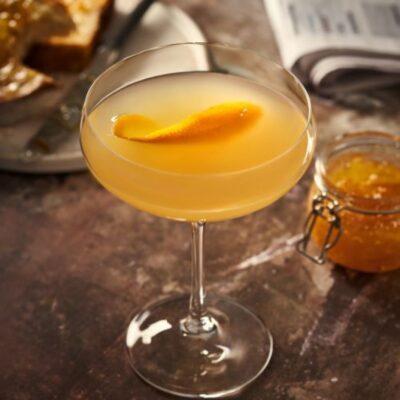 Breakfast Martini cocktail ricetta originale con gin limone e marmellata
