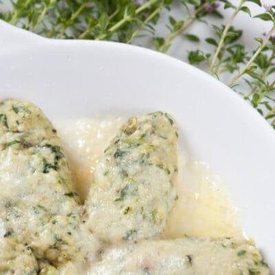 Rabaton di ricotta e spinaci ricetta originale piemontese con ingredienti e dosi