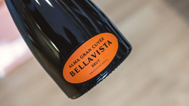 Franciacorta spumante Bellavista Gran Cuvée Alma recensione, commento prezzo